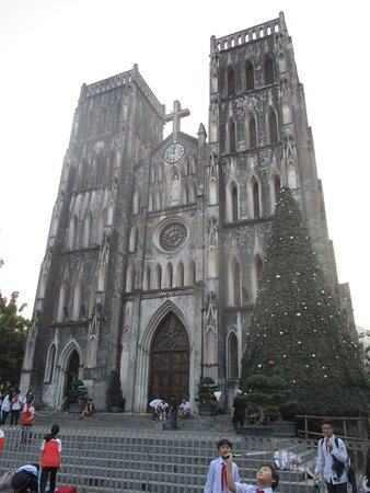 Nhà Thờ Lớn: La Cathedrale avant Noel