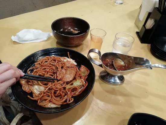 Yakisoba al curry