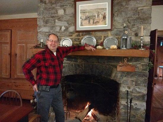 Ed, the Inn Keeper, in the Breakfast Room