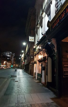 The Saddle: Great pub.