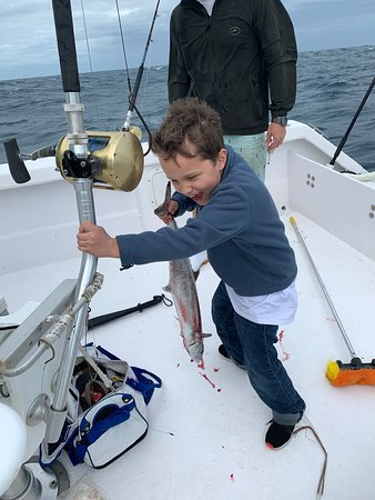 Coastal Charters: Look at that smile!