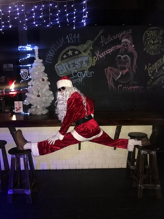 Coyote Pub&Club: Санта ВанДамус