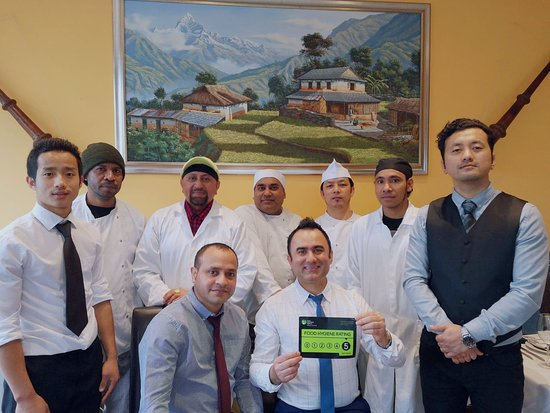 New Gurkha Kitchen: Received a rating of 5 star for food hygiene.