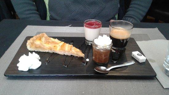 Isola 2000, France: Café gourmand