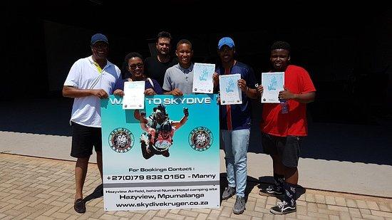Hazyview, Dél-Afrika: Skydive Kruger