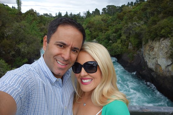 Hinuera, Nieuw-Zeeland: Huka Falls