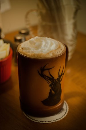 Saguache, CO: Our speciality is awesome coffee drinks!  We offer alternative milks as well as cows milk.