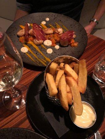 Catch by Simonis: coquilles en frietjes zonder ketchup ;-)