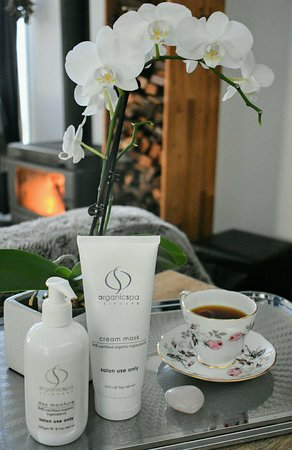 We have the whole range of OrganicSpa skincare products available as well as offering Organicspas facial treatments.