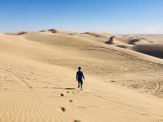 Glamis Dunes: Sand dunes