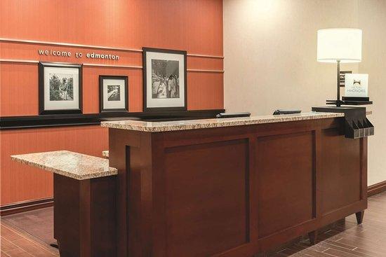 Hampton Inn by Hilton Edmonton/South: Reception