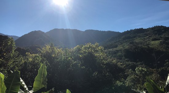 San Gerardo, Costa Rica: View from my room!