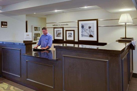 Hampton Inn Harrisburg / Grantville / Hershey: Reception