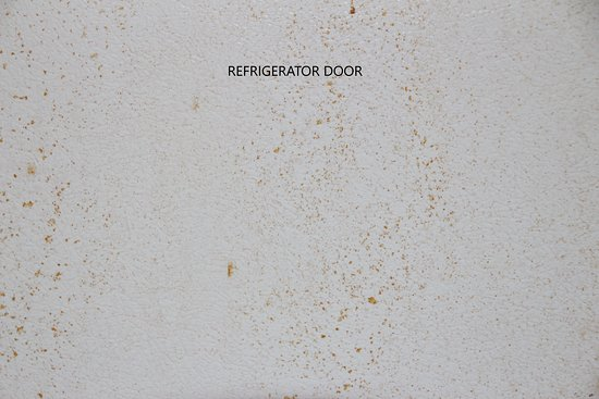 Carole's Bed & Breakfast Inn: Refrigerator door