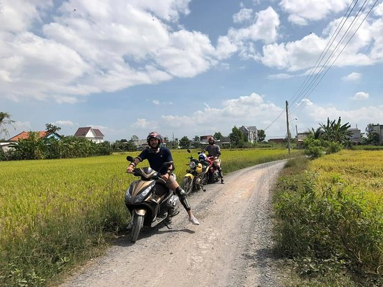 Full Day Saigon Motorbike Tour To Mekong Delta  🇻🇳 If you only have one day to explore the Mekong Delta, this motorbike tour is the most reasonable itinerary for you to explore the beauty of this wetland. You will get full experience when riding along beautiful natural scenery and quiet roads. Taking a boat trip on Mekong River is also an unforgettable memory.  🌏 Destinations: Saigon - Long An - My Tho.  🕛 Duration: Full day  ➡ JOIN US NOW : https://vietlongtravel.com