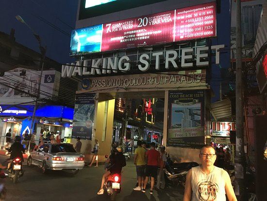 Walking Street Pattaya: ストリート