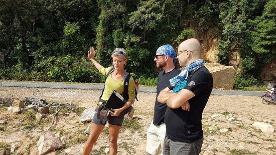 Guidage Mont Bokor