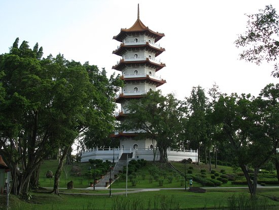 ‪‪Chinese and Japanese Gardens‬: Seven-Storied Pagoda‬