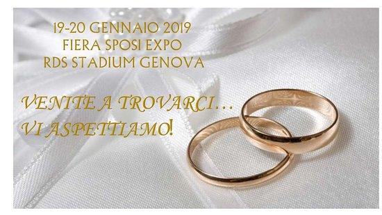 Carpeneto, Italia: IL RISTORANTE ALBACHIARA SARA' IN FIERA SPOSI EXPO A GENOVA.. VENITE A TROVARCI!