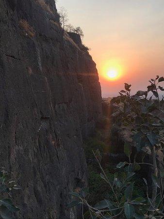 Daulatabad, الهند: Sunset!