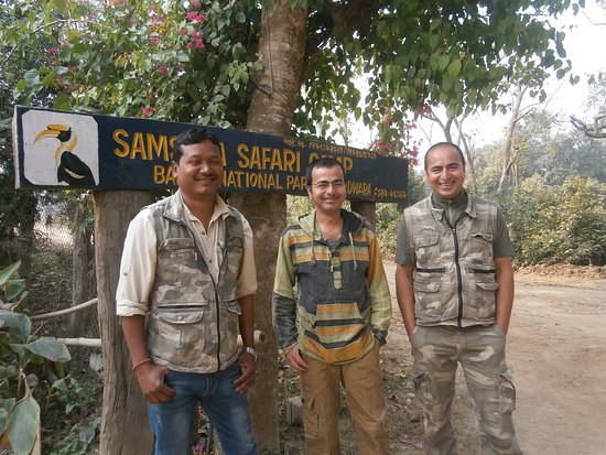 Bardia National Park, نيبال: The team!