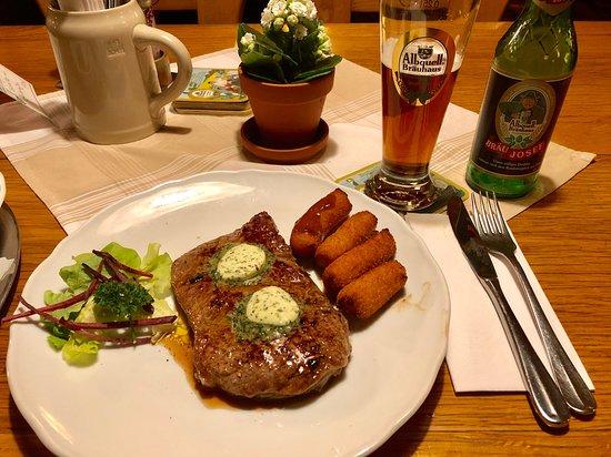 Trochtelfingen, Germany: steak