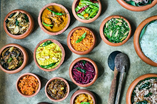 Kalpitiya, Sri Lanka: Sri Lankan cuisine