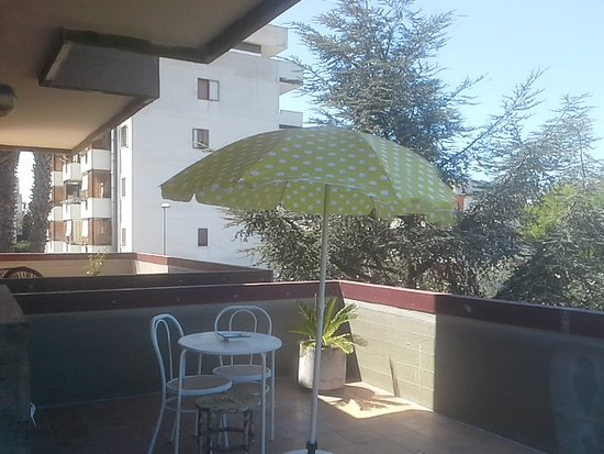 """Ananas B&B: White dreams: terrace in use for """"white dreams"""" room"""
