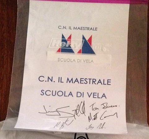 """Santo Spirito, Italy: Nautical Club  """"The Mistral"""": Partner for intensive sailing courses for adults"""