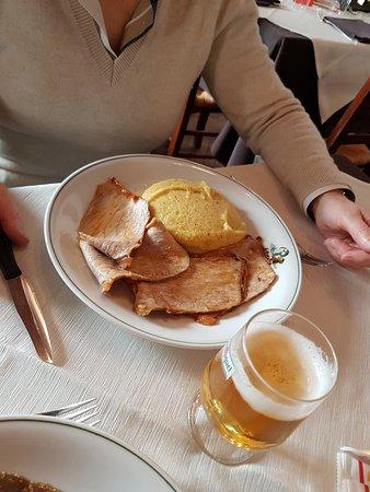 Caglio, Италия: Arrosto con polenta
