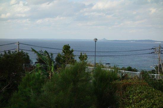 伊江島も見えます