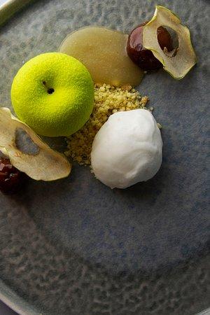 Restaurant Kordon: Яблочный чизкейк