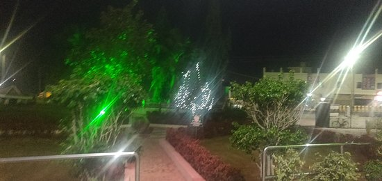 Out side Hotel near Entrance