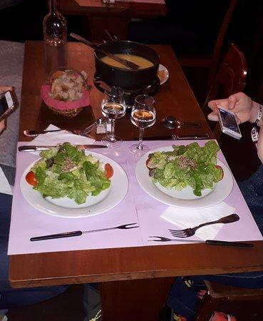 Bar Jacques: Lovely fondue
