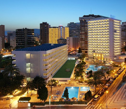 Poseidon Resort, hoteles en Benidorm