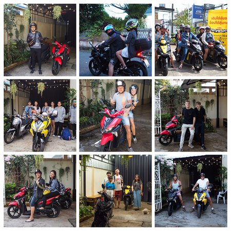 Supamas Scooter and Motorbike Rental: Thanks everyone for choose our bikes. Nice to meet you all.
