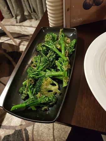 broccolini, chilli and garlic
