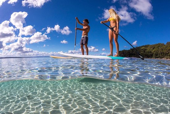 Sussex Inlet, Australia: Paddle the beautiful south coast