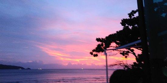 White Box Phuket: Sunset from White Box roof top