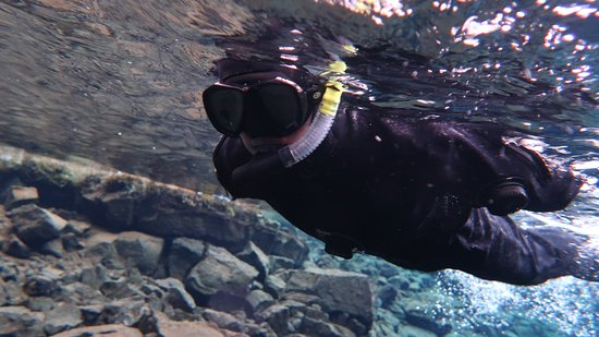 DIVE.IS: Water is very cold in winter tho.