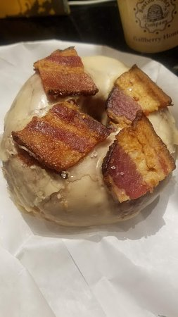 Best Organic Maple Bacon Donuts
