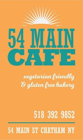 Chatham, NY: 54 MAIN CAFE- vegetarian friendly & gluten free bakery