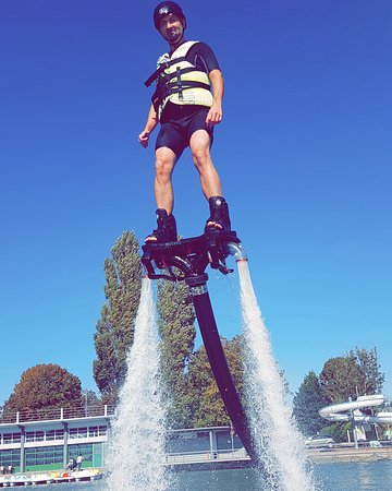 Palavas-les-Flots, France : Session FLYBOARD