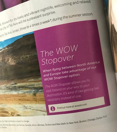 WOW air [no longer operating]: Promoción: The Wow Stopover