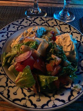 Fishmarket: Vegan starter plate