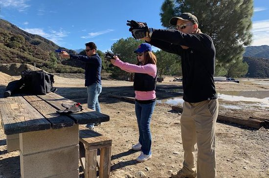 BonBon Safety - Outdoor Gun Shooting Half Day Tour in Los Angeles