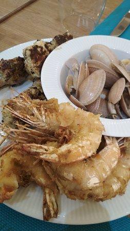 Sea food на ужин (за доплату).