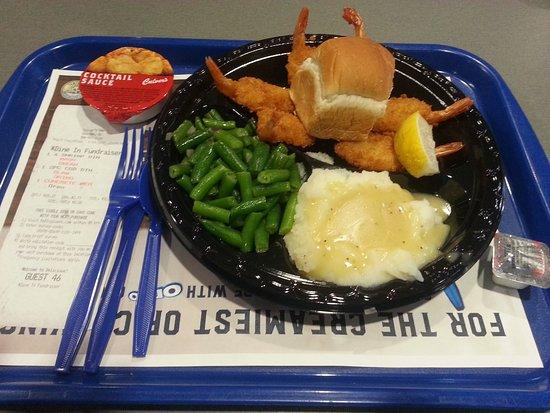 DeForest, WI: shrimp dinner