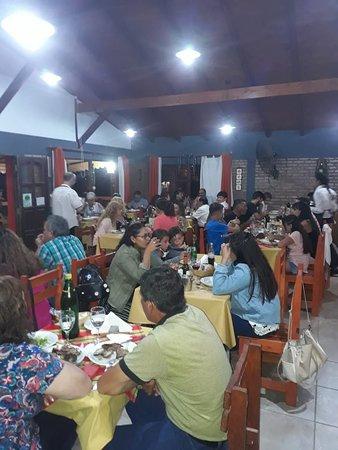 Foto de una de las cena show que organizamos para ustedes