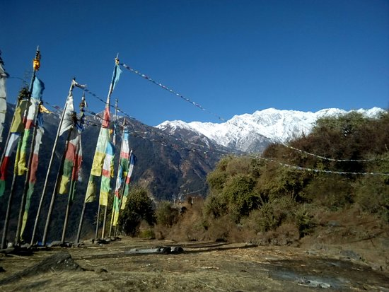 Tatopani, Nepal: View